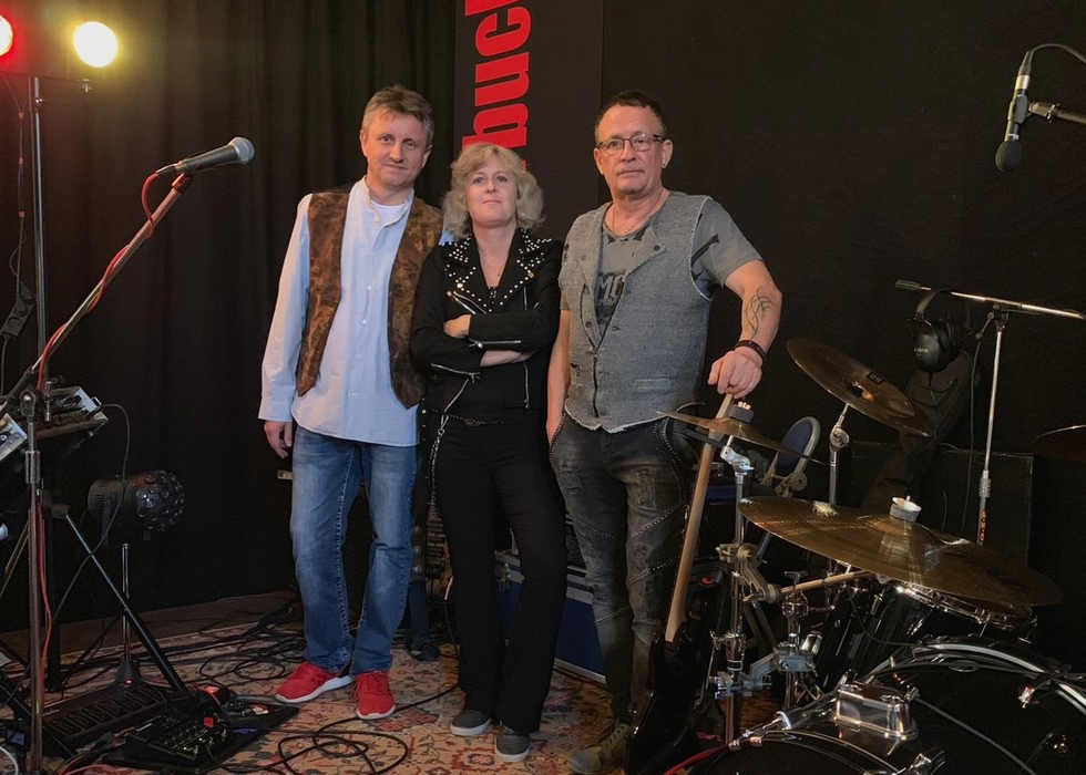 Live on stage – Adrenalin