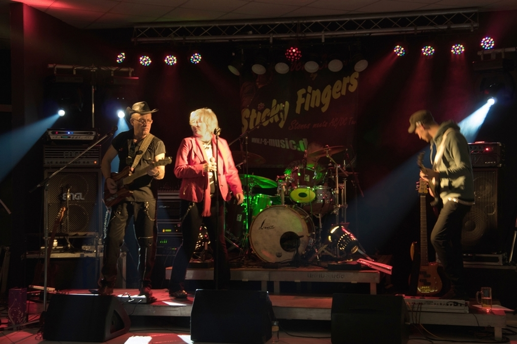Sticky Fingers bei 10 Jahre Band