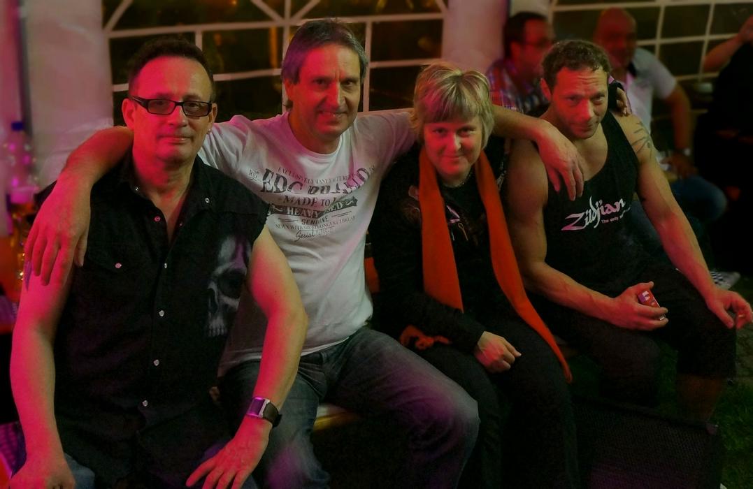 Sticky Fingers mit Uwe Falke und Bernd Leucht in Mühlhausen